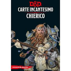 DUNGEONS & DRAGONS - 5A EDIZIONE - CARTE INCANTESIMO CHIERICO