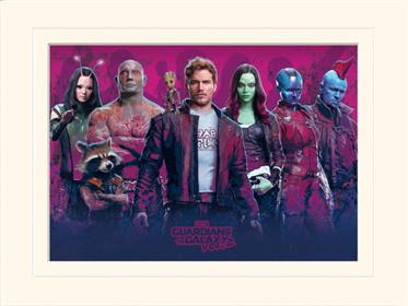 Guardians Of The Galaxy Vol.2 - Characters Vol.2 - Mounted 30 X 40cm Prints
