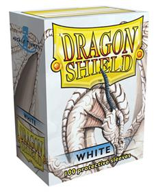 DRAGON SHIELD DECK PROTECTORS DA 100 WHITE MATTE