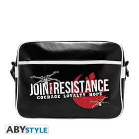 Star Wars - Messenger Bag join The Resistance - Vinyl *