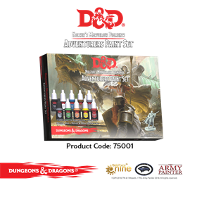 D&D NOLZUR ADVENTURER PAINT SET
