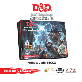 D&d Nolzur Marvelous Pigments Monsters Paint Set