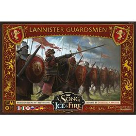 A Song Of Fire & Ice - Lannister Guardsmen