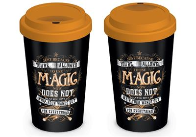 HARRY POTTER - MAGIC - TRAVEL MUGS - TAZZA DA VIAGGIO IN CERAMICA