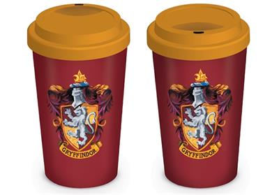 HARRY POTTER - GRYFFINDOR - GRIFONDORO - TRAVEL MUGS - TAZZA DA VIAGGIO