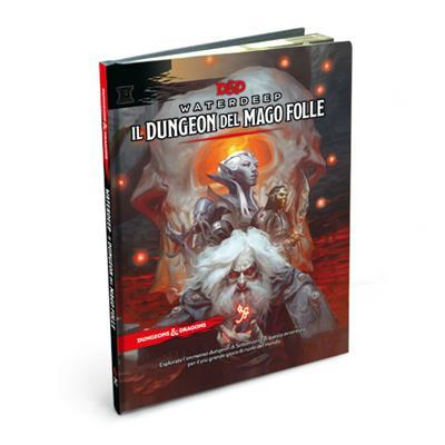 D&D 5A ED. - WATERDEEP: DUNGEON DEL MAGO FOLLE
