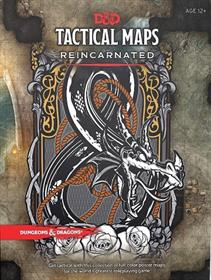 DUNGEONS & DRAGONS RPG TACTICAL MAPS REINCARNATED ENGLISH