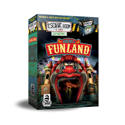 ESCAPE ROOM - BENVENUTI A FUNLAND