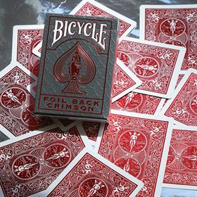 BICYCLE - METALLUXE NEW - RED