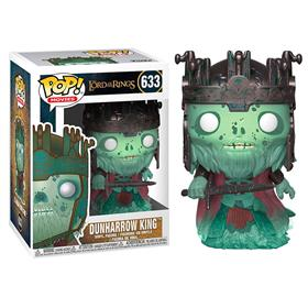 LORD OF THE RINGS POP! MOVIES VINYL FIGURE DUNHARROW KING 9 CM