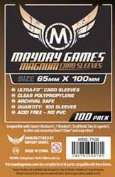 MAYDAY GAMES MAGNUM CARD SLEEVES 100 65X100