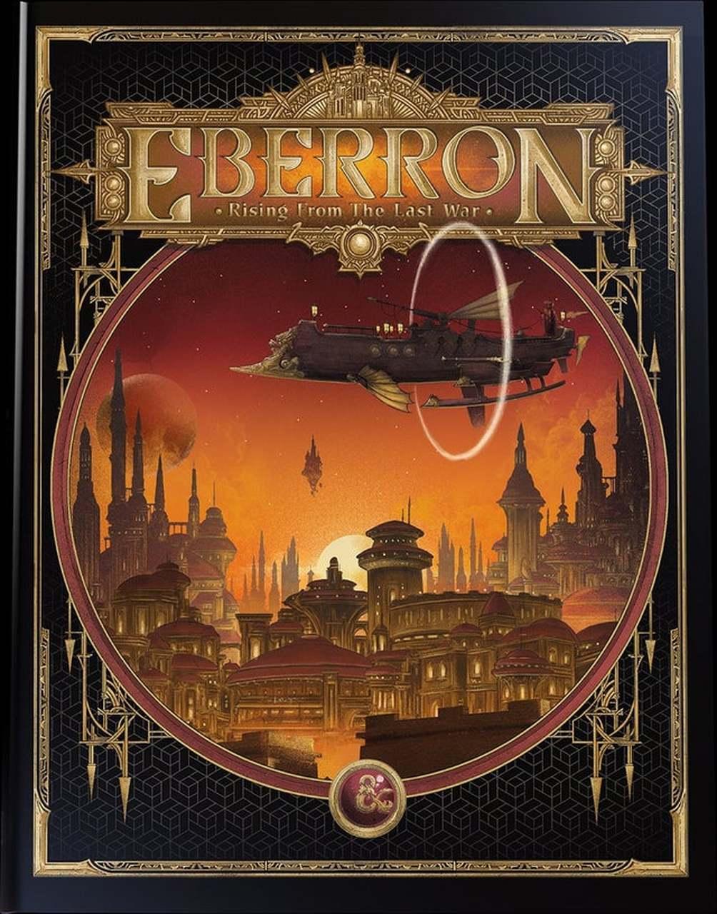 Dungeons and Dragons RPG 5th edizione Eberron Rising dall/'ultima guerra in magazzino!