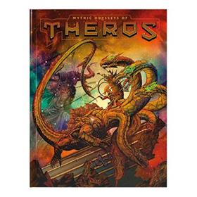 D&D MYTHIC ODYSSEYS OF THEROS HC (ALT COVER)