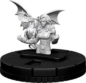 MARVEL HEROCLIX UNPAINTED MINIATURE KITTY PRIDE