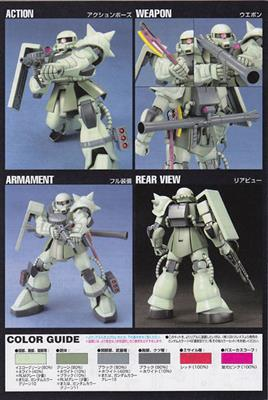 HGUC ZAKU II MASS PRODUCTION TYPE 1/144