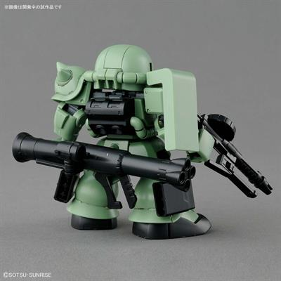 SD CROSS SILHOUETTE ZAKU II