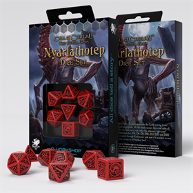 Q-WORKSHOP COC THE OUTER GODS NYARLATHOTEP DICE SET (7)