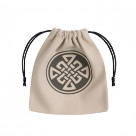 Q-WORKSHOP CELTIC BEIGE & BLACK DICE BAG