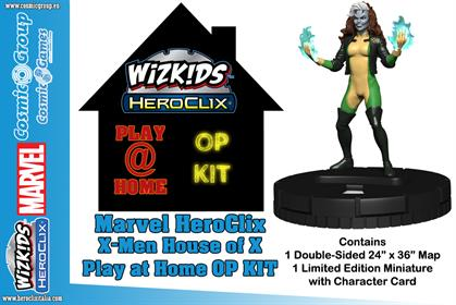 MARVEL HEROCLIX X-MEN HOUSE OF X PAH OP KIT