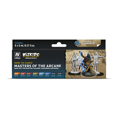 Wizkids Set Pittura Masters Of The Arcane