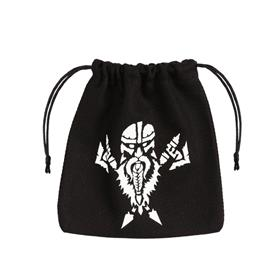 Q-Workshop Dwarven Dice Bag Black
